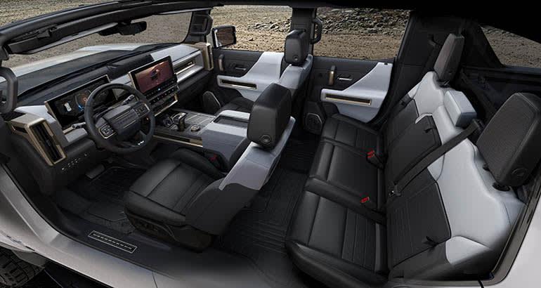 2022 GMC Hummer EV καβούρι λειτουργία