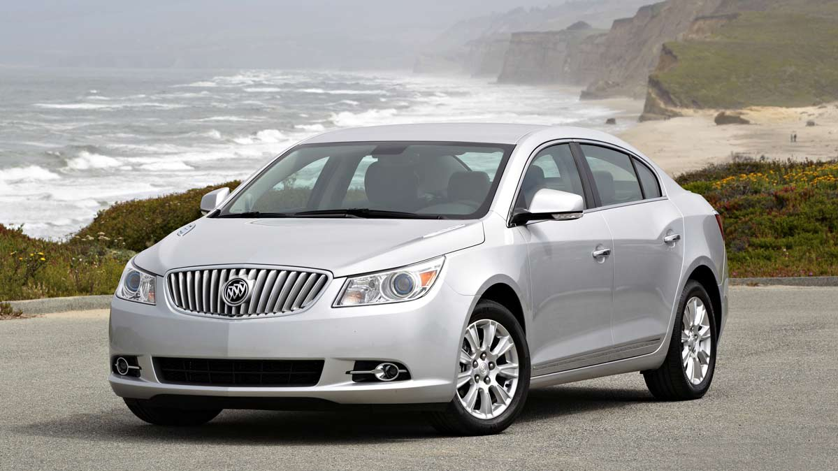 A 2013 Buick LaCrosse