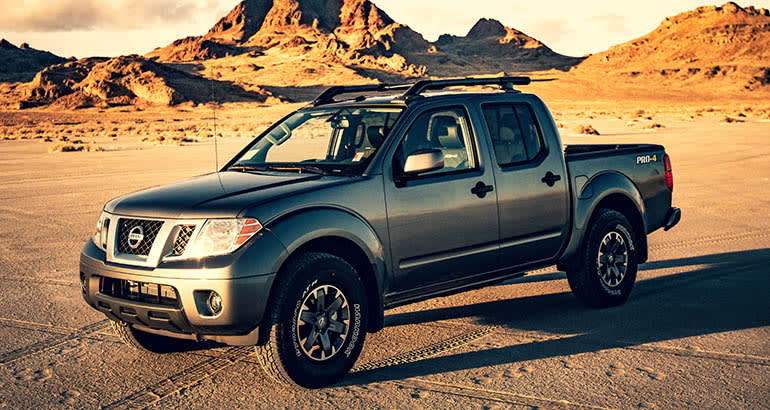 2020 Nissan frontier Pro-4x exterior view front