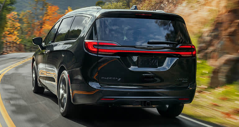 2021 Chrysler Pacifica rear