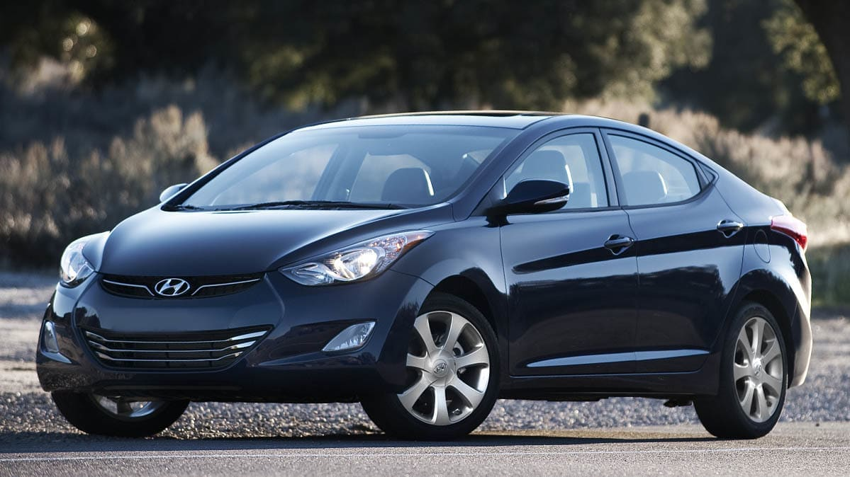2011 Hyundai Elantra — one of the Hyundai vehicles recalled for a potential ABS module related fire