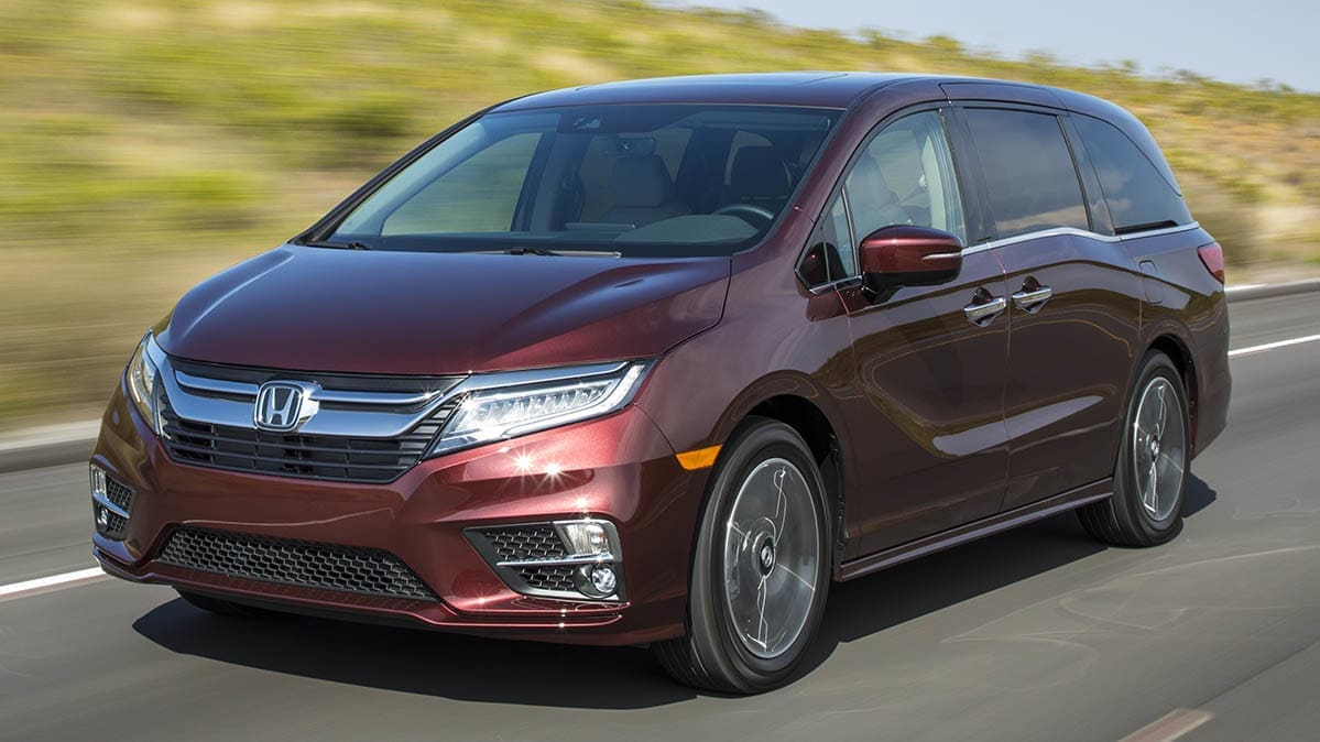 Honda Odyssey Recalled for Fire Risk