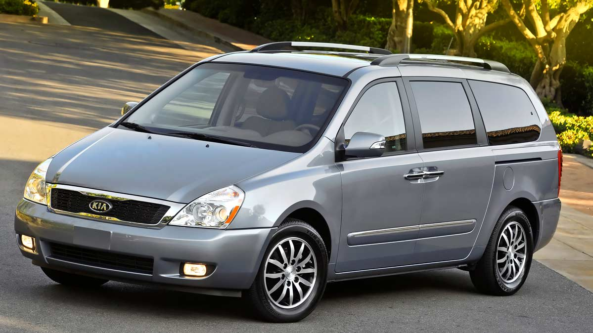 Kia Sedona Minivan Is Recalled Due to a Fire Risk