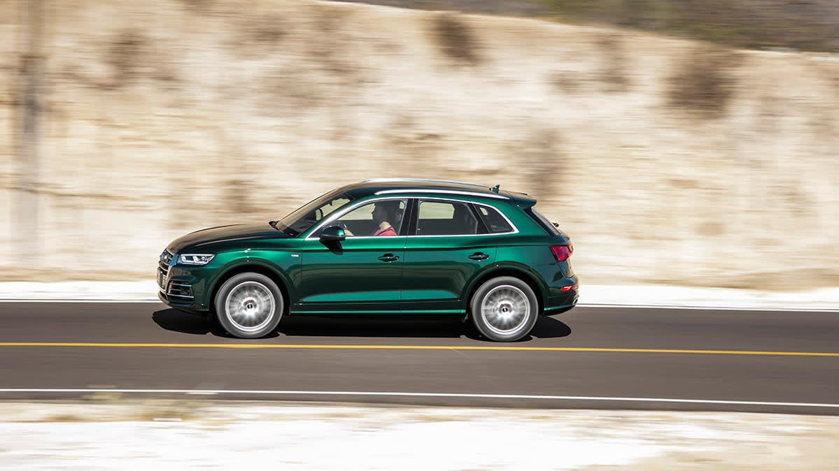 The Audi Q5 is one of the most satisfying compact SUVs in Consumer Reports' survey.