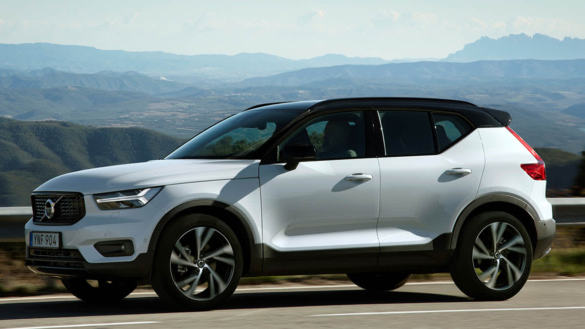 Volvo recall includes the XC40