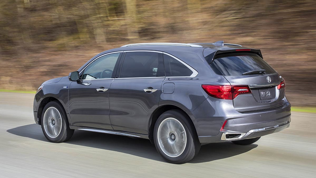 The Acura MDX is an SUV to avoid.
