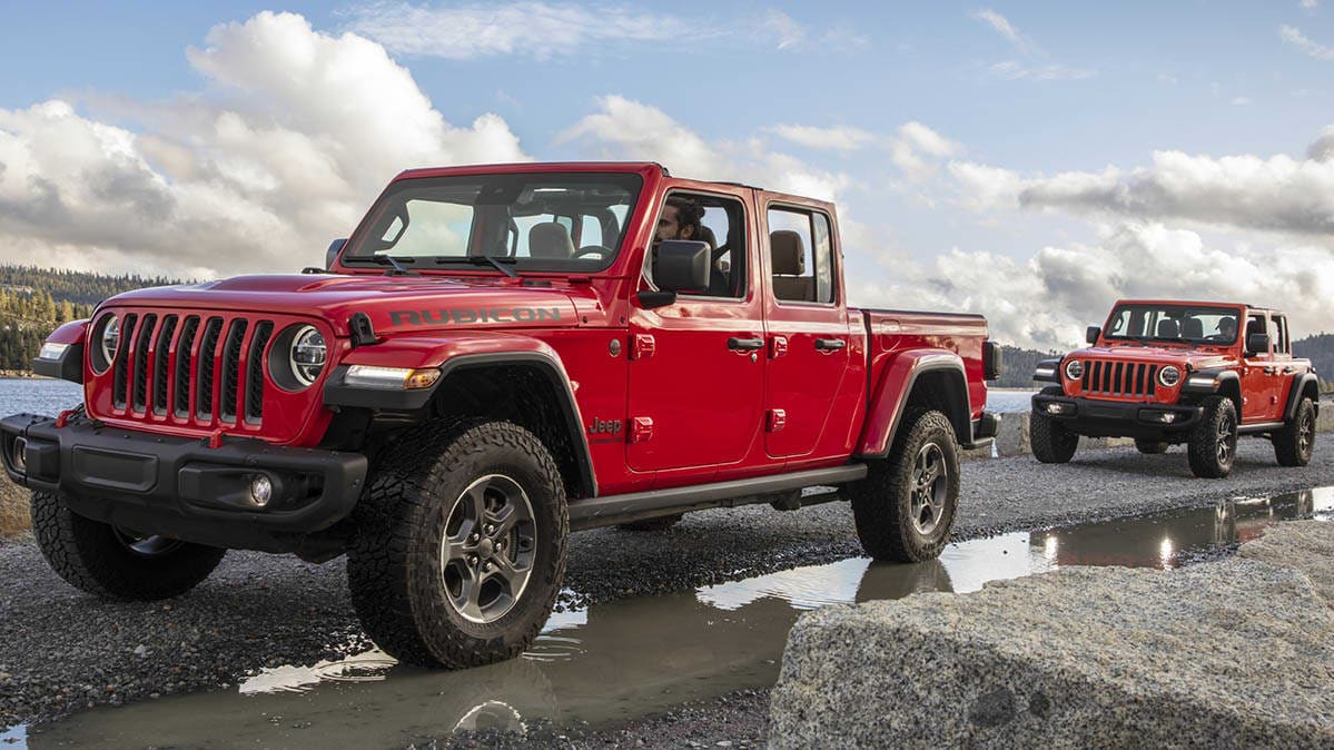 2020 Jeep Gladiator and Jeep Wrangler are recalled