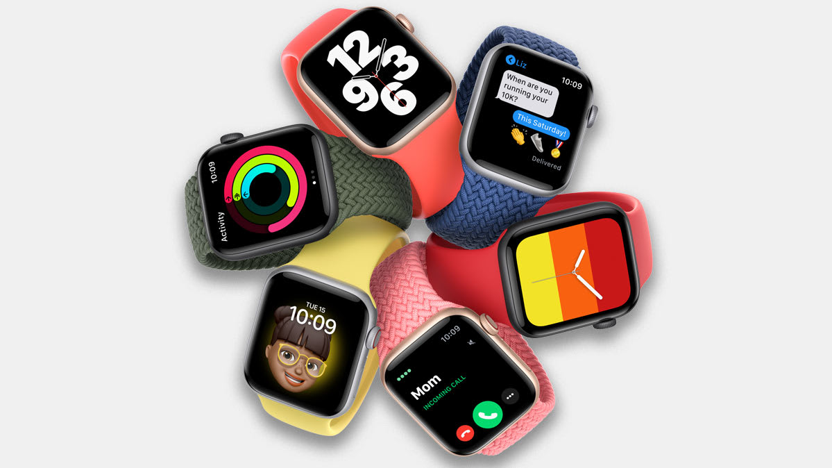 New Apple watches with WatchOS 7.