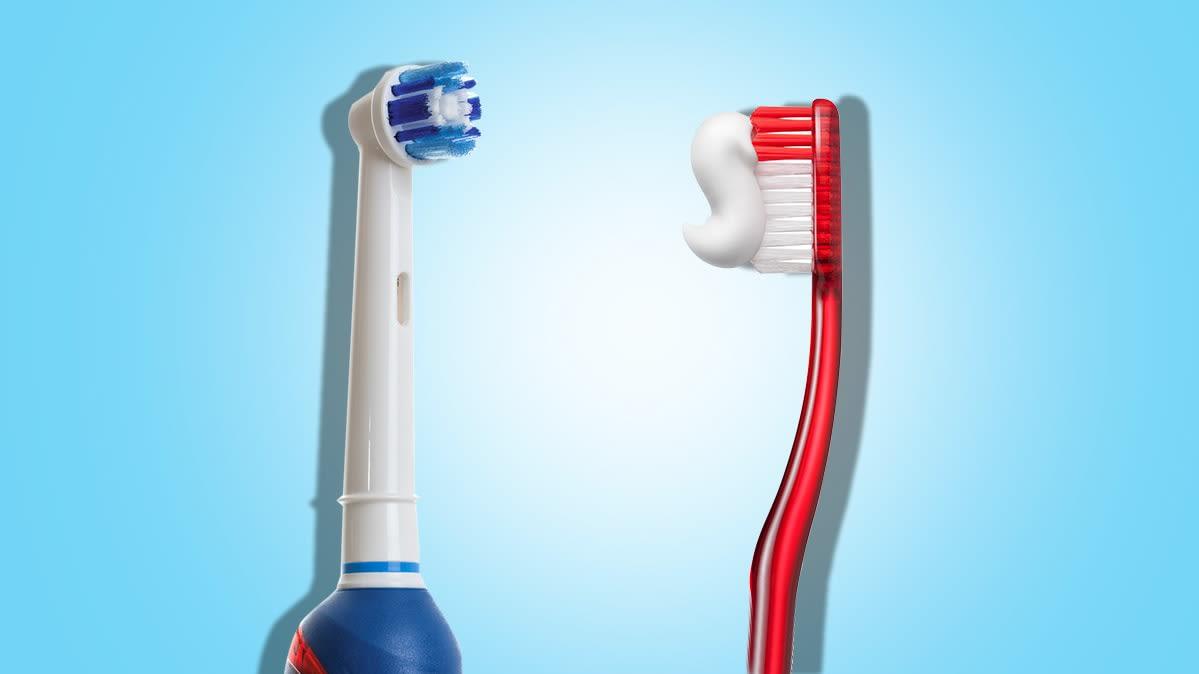 tipos de cepillos de dientes electricos