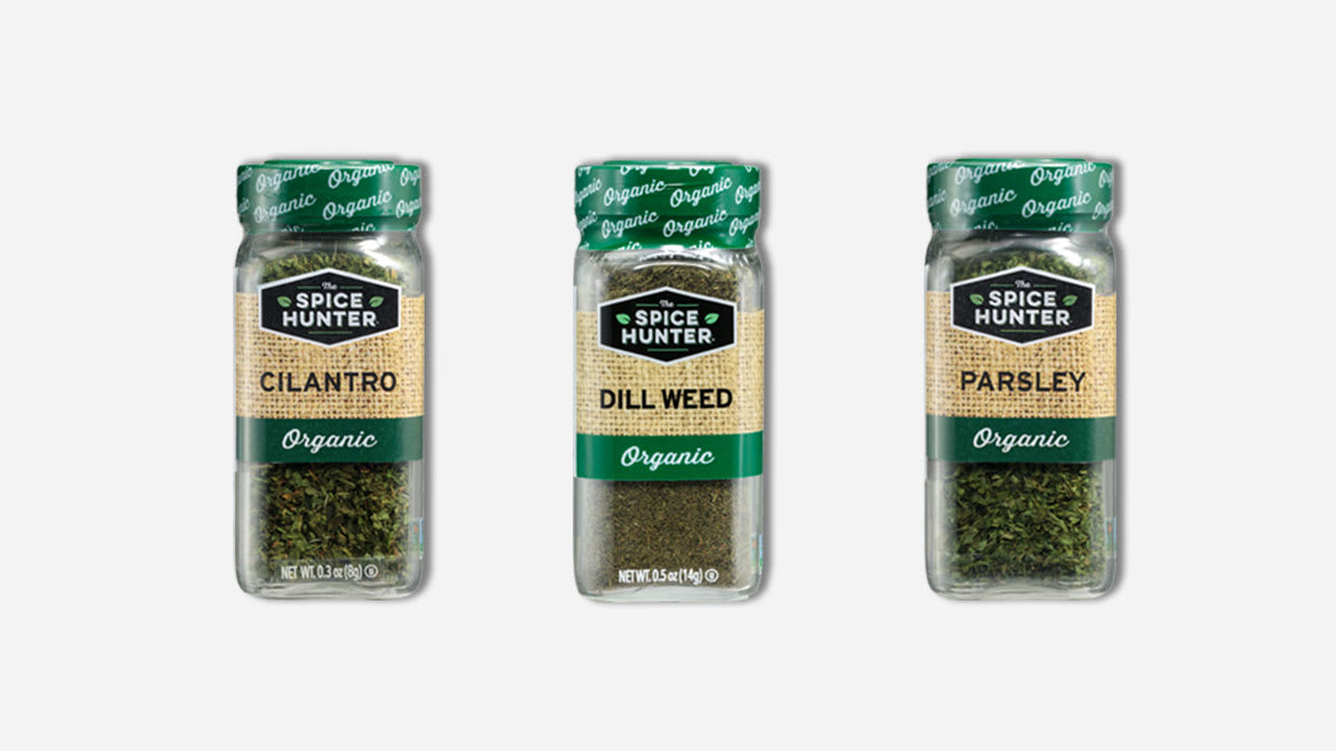Spice Hunter herbs and spices recalled due to risk of salmonella.