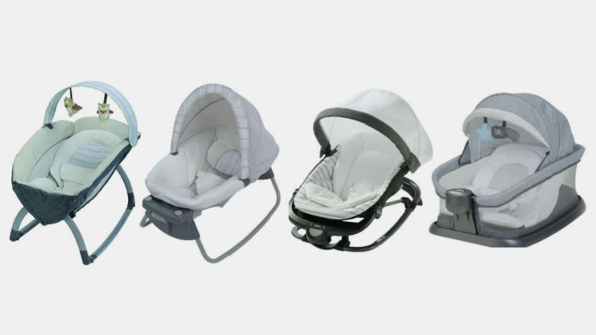 Recalled Graco infant inclined sleepers