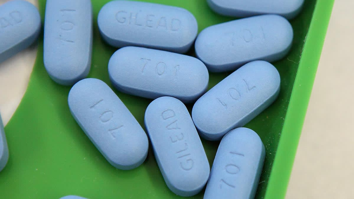 The HIV PrEP drugs Truvada and Descovy.