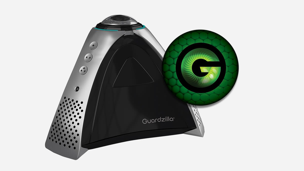A Guardzilla 360 security camera