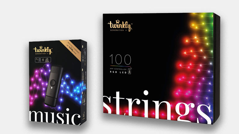 Twinkly lights and Twinkly Music Adapter