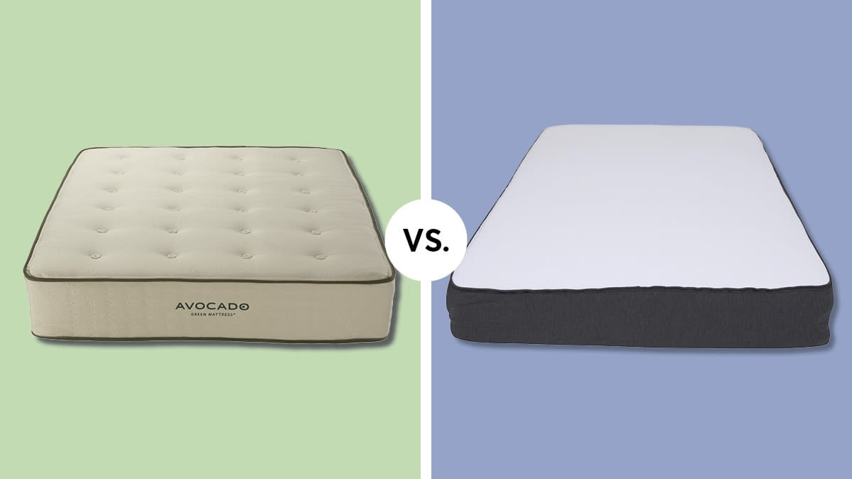 Mattress Face Off Avocado Vs Casper