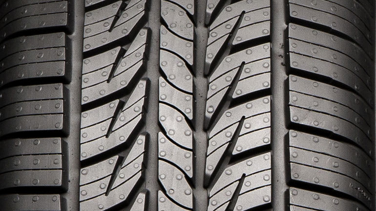 All-season tire tread