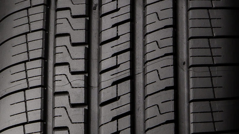UHP all-season tire tread