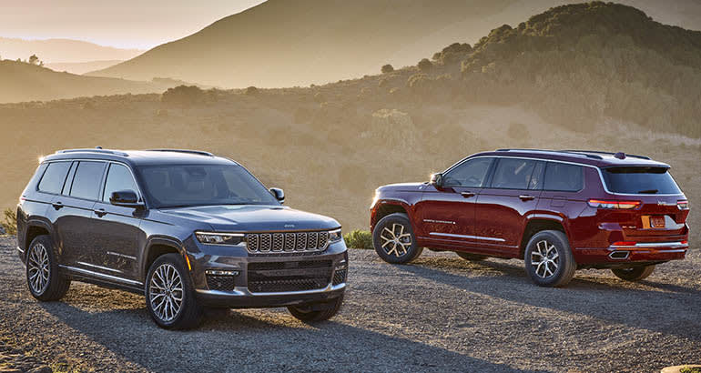2021 Jeep Grand Cherokee L pair