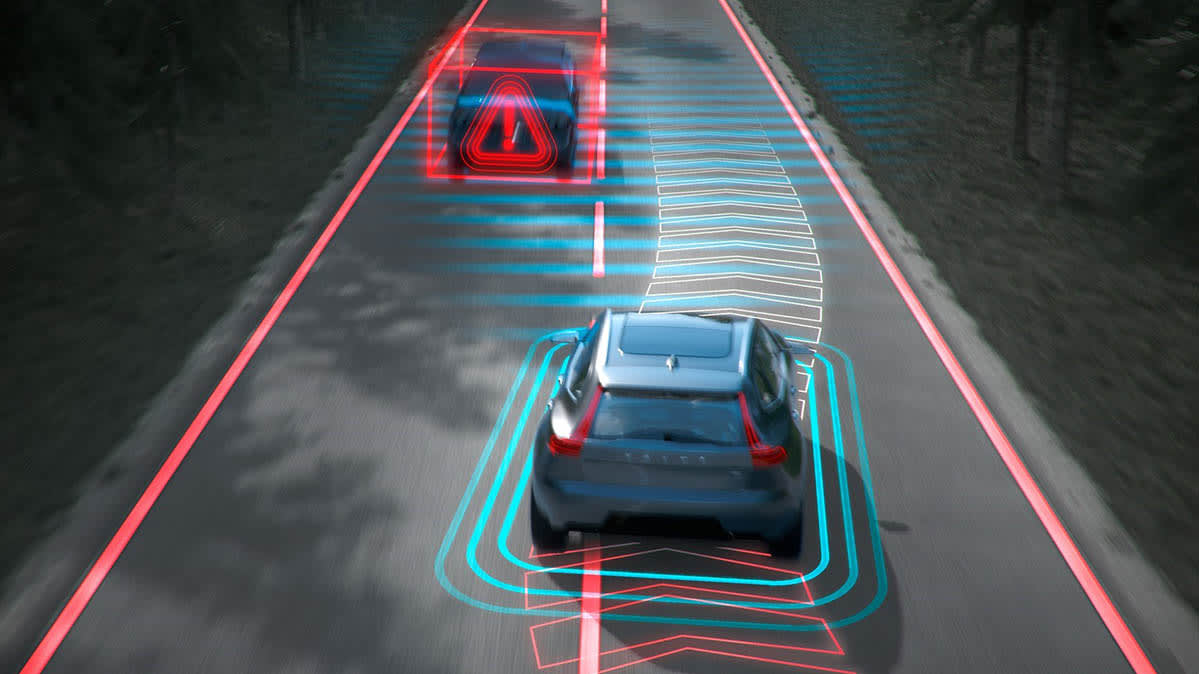 Volvo lane mitigation is an advanced safety system