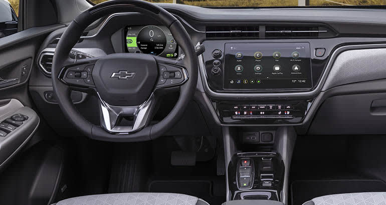 2022 Chevrolet Bolt EUV interior