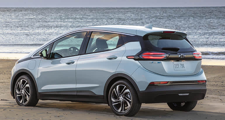 2022 Chevrolet Bolt rear