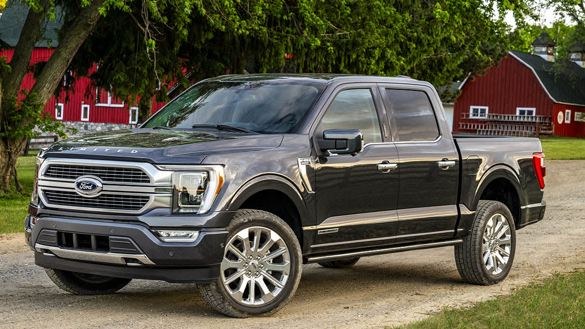 The 2021 Ford F-150 is among the most discounted cars based on transaction prices