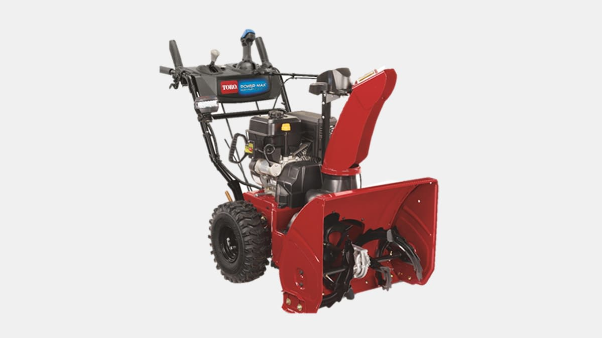 A snow blower covered by the Toro Power Max Recall.