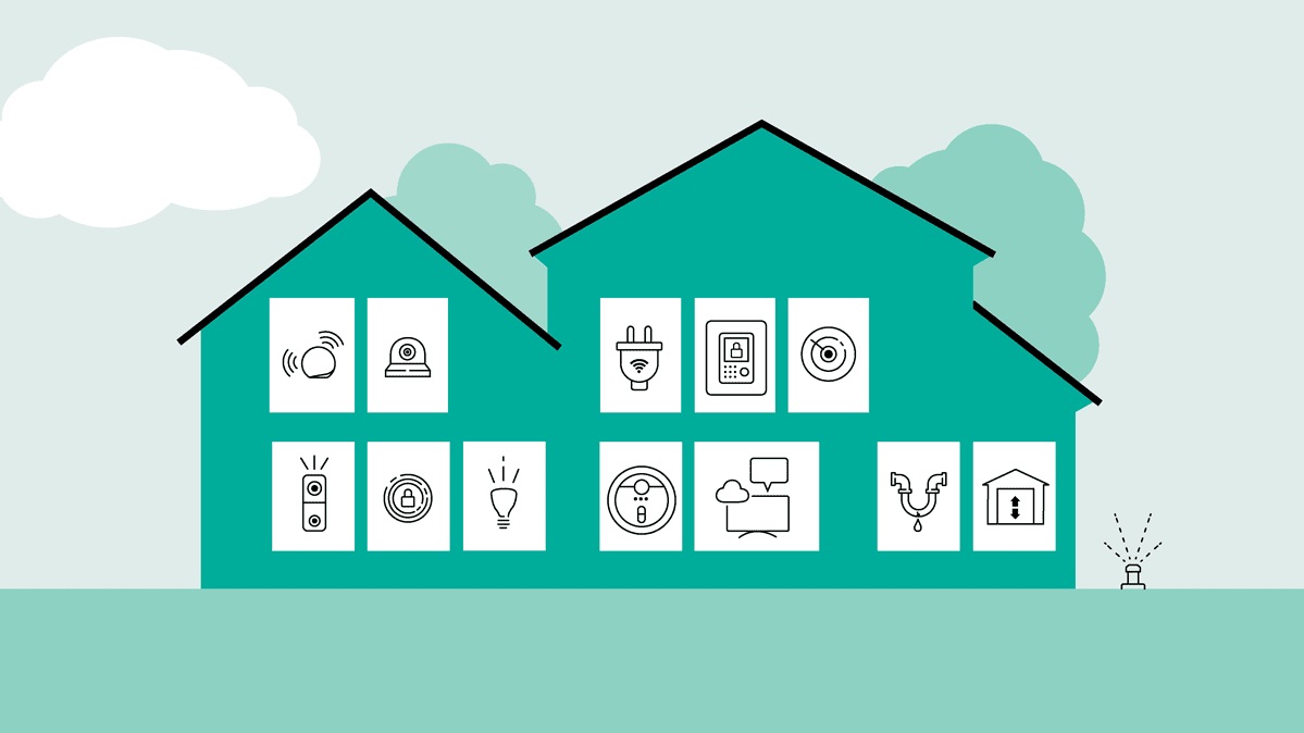 A house filled with connected devices that are all part of CR's smart home toolkit.