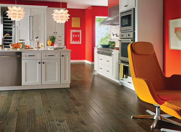 Kitchen Floors That Stand Floor Traffic