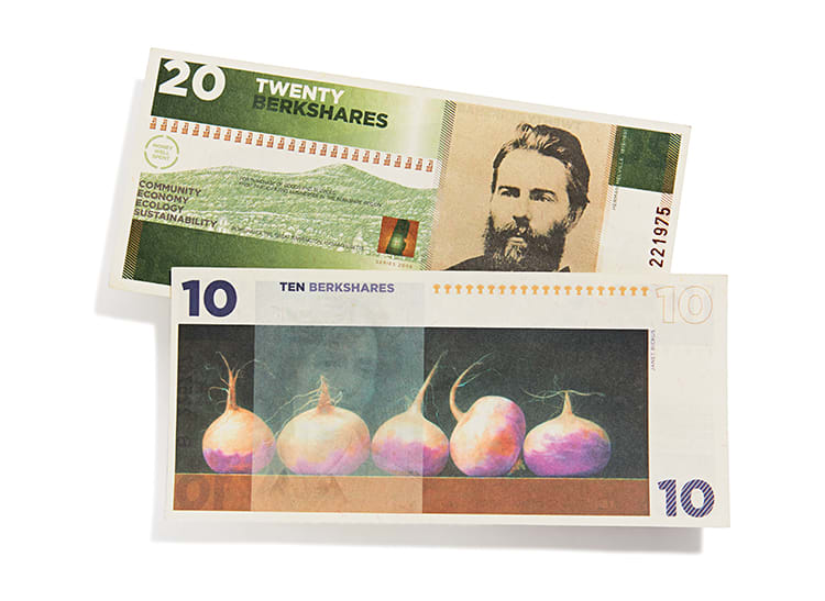 A picture of cash currency that some communities are using.