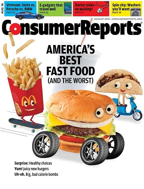 McDonald's Burgers Named Worst in America in Consumer