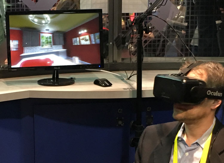 Virtual reality software can help you plan the perfect home renovation