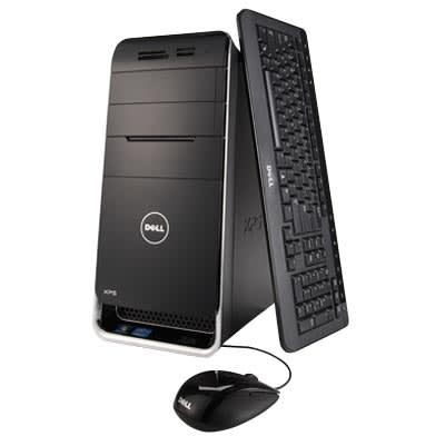 Photo of full-sized desktop computer.