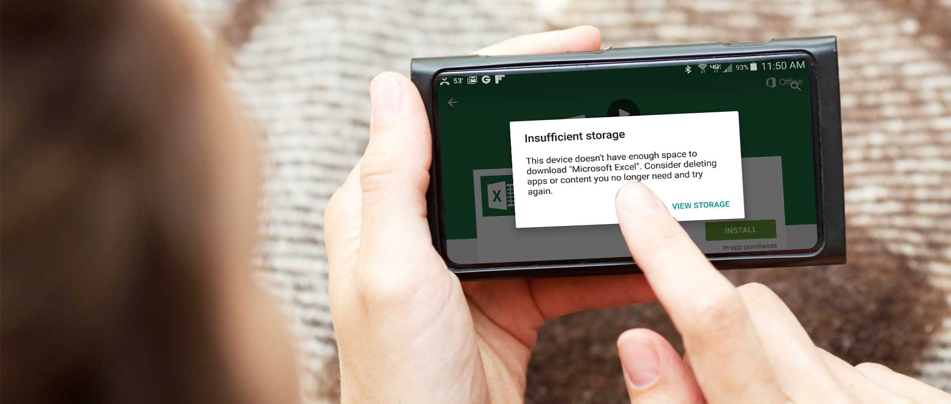 Insufficient Storage Available Problem Android - Consumer Reports