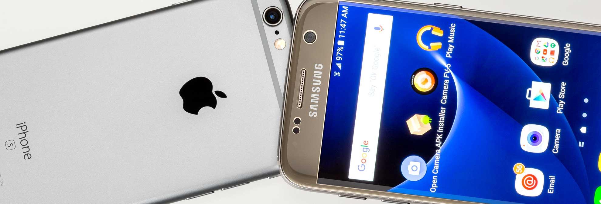 Head-to-Head: Samsung Galaxy S7 vs  iPhone 6s - Consumer Reports