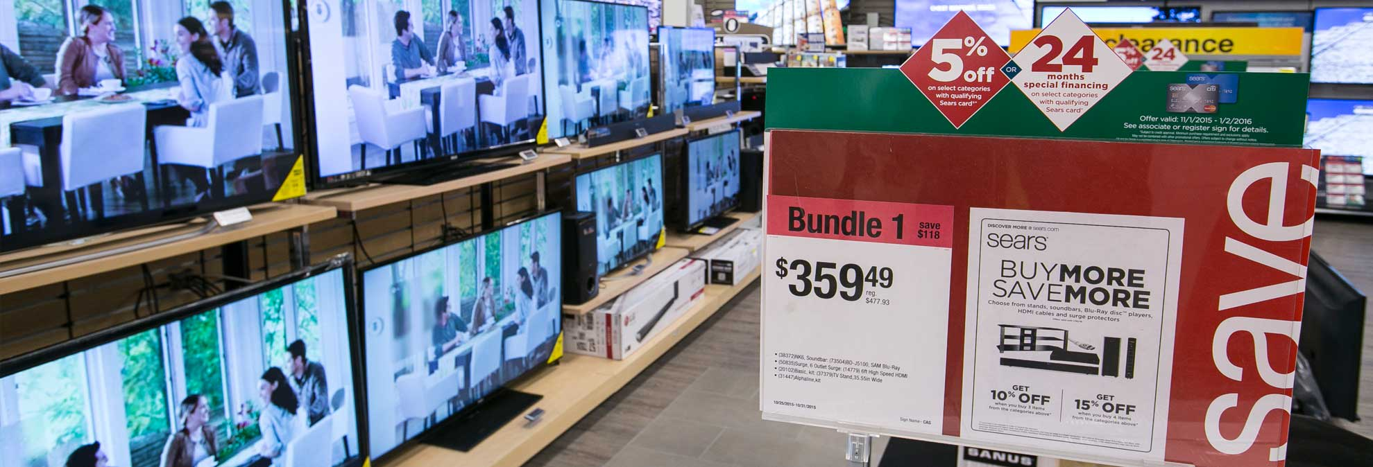 Sears Black Friday Tv Deals Can T Stack Up Consumer Reports