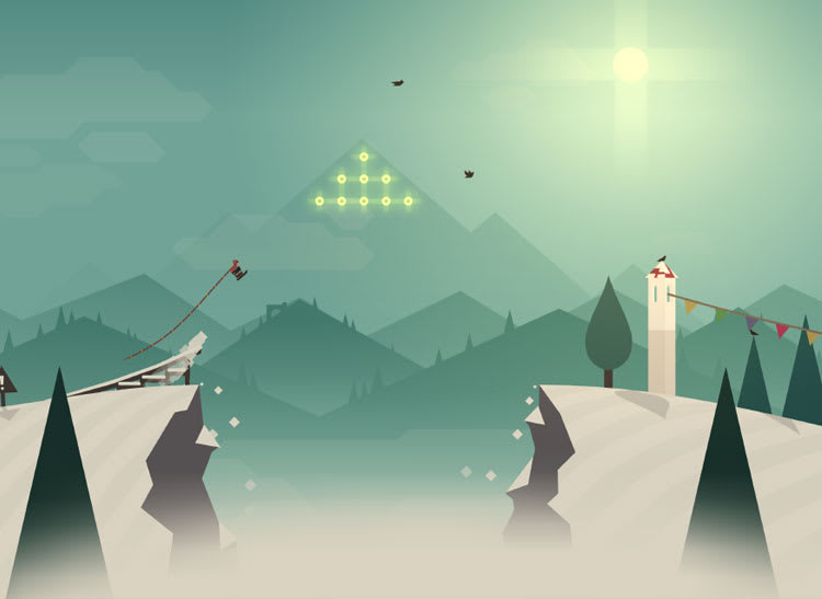 Alto's Adventure screen shot for article on best mobile games for kids