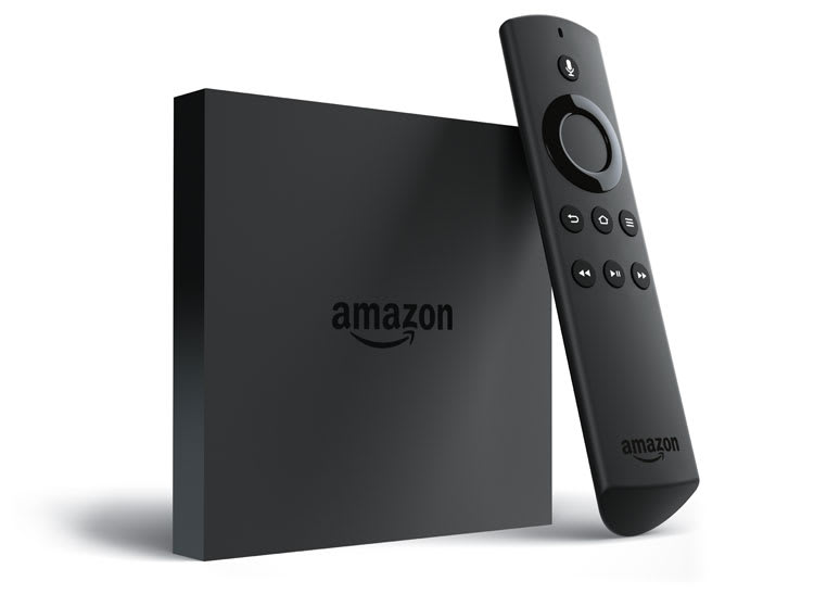Photo of the new Amazon Fire TV