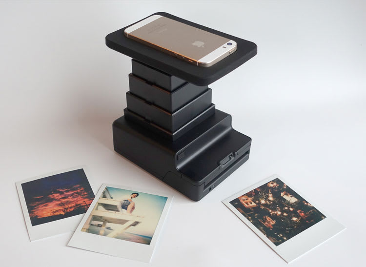 This is a photo of the Impossible Instant Lab