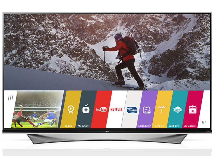 According to market research firm Quixel Research, smart TVs like this LG smart TV with webOs 2.0 will represent close to 60 percent of the TVs sold this year.