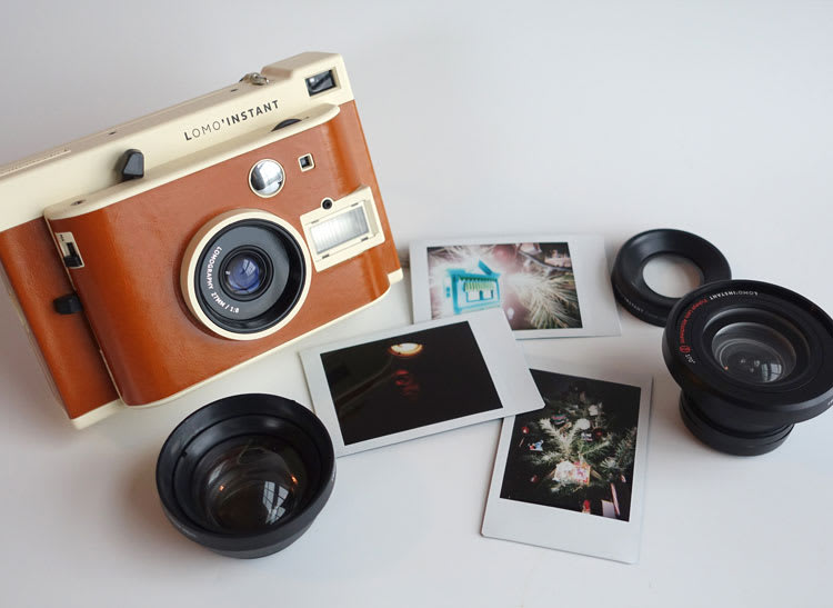 This is the Lomo Instant Camera