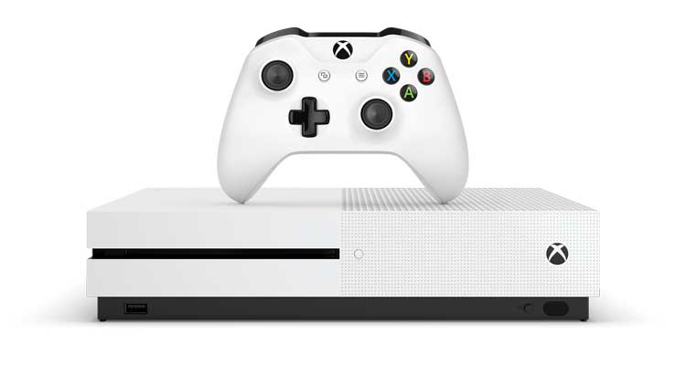 XboxOne S 4K gaming console.