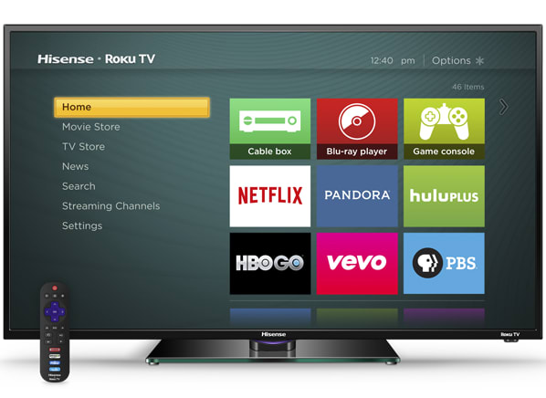 Roku integrated into Hisense and TLC TVs - Consumer Reports News