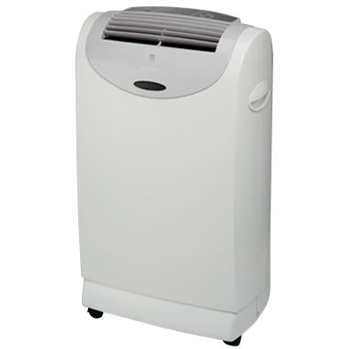 Photo of a portable air conditioner.