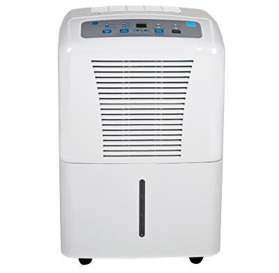 A medium-capacity dehumidifier.