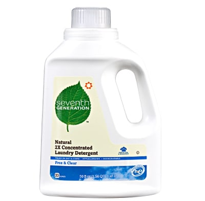 An environmentally friendly laundry detergent.
