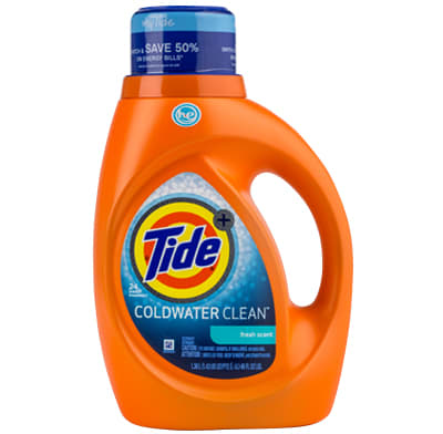 A cold-water laundry detergent.