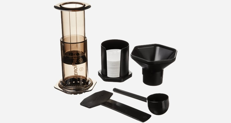 Use the AeroPress Coffee Maker to brew coffee.
