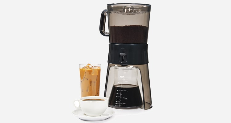 Use the Oxo Cold Brew 1272880 to brew coffee.