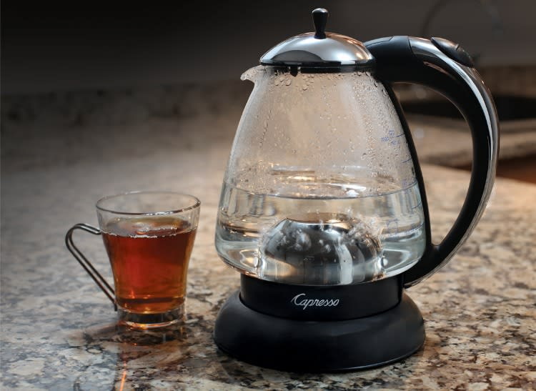 Capresso H20Plus electric tea kettles